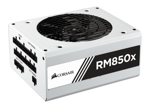 Corsair RM Series 850X White  - 80 Plus Gold - Full Modular