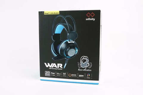 Infinity War RGB Led -Virtual 7.1  Vibration Gaming Headset