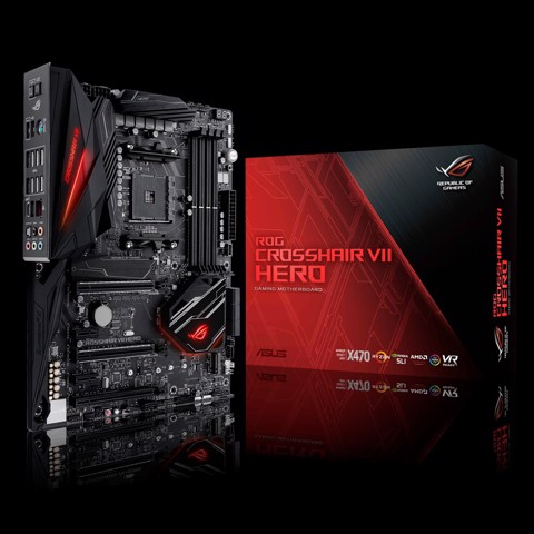 ASUS ROG CROSSHAIR VII HERO - Socket Am4 FOR AMD RYZEN 2