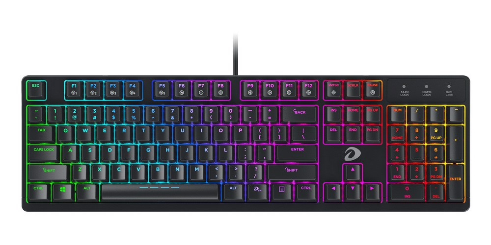 DareU EK1280 Blue/Red Switch Mechanical Keyboard