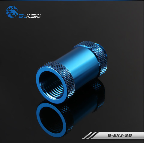 Bykski Blue Extention Joint 30mm - B-EXJ30-BL