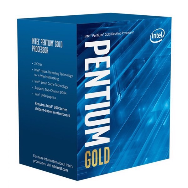 Intel Pentium Gold G5400 / 4M / 3.7GHZ / 2 nhân 4 luồng - Socket 1151v2 Coffee Lake