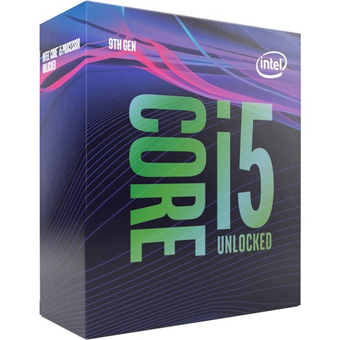 Core i5-9600K Processor 9M Cache, up to 4.60 GHz - Socket 1151v2 Coffee Lake