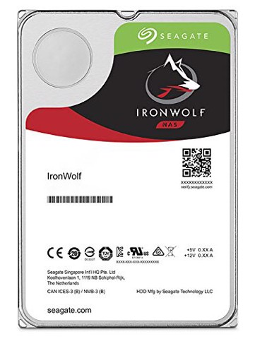 SEAGATE IRONWOLF 14000GB ST14000VN0008