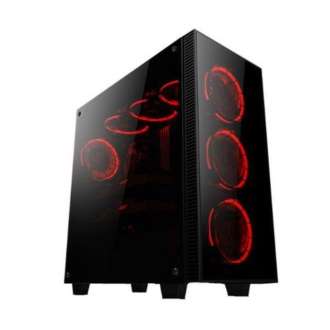 Infinity Revenge Pro - 3 Sides Tempered Glass Mid-Tower Silent Case