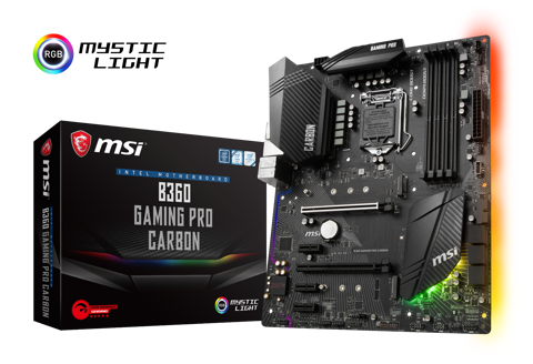 MSI B360 GAMING PRO CARBON - Socket 1151v2