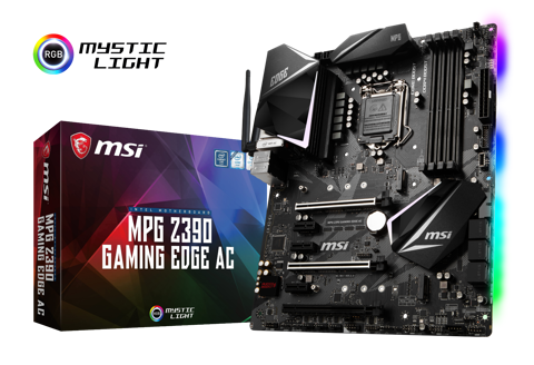 MSI MPG Z390 GAMING EDGE AC - Socket 1151v2
