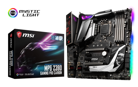 MSI MPG Z390 GAMING PRO CARBON - Socket 1151v2