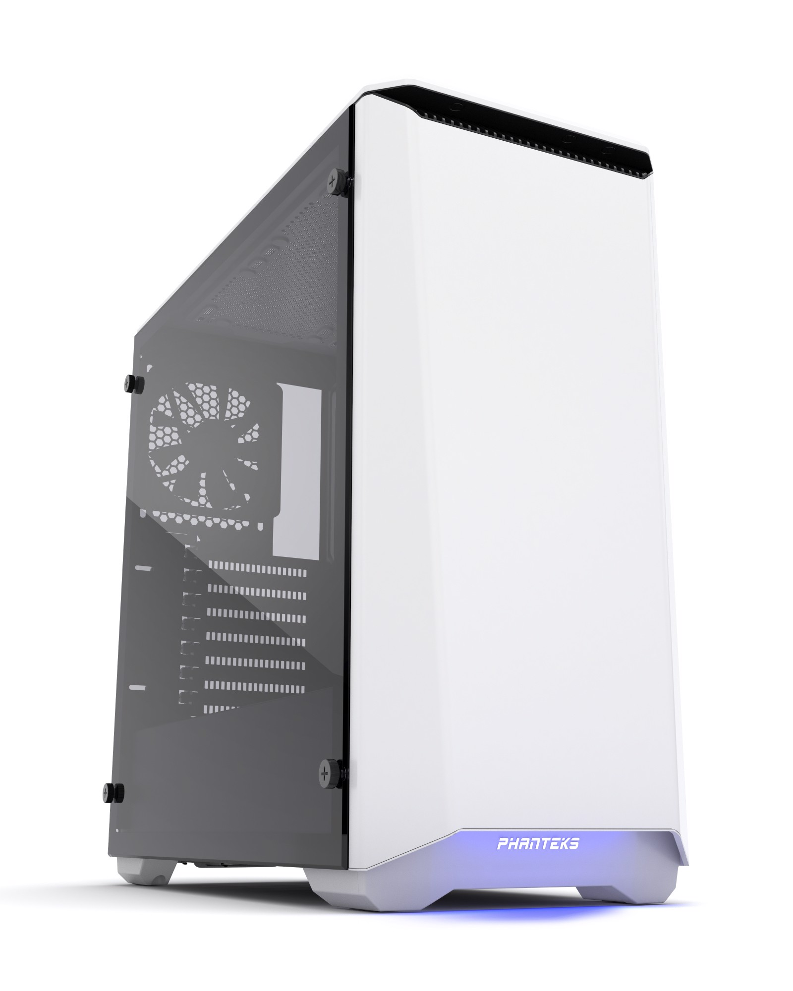 Phanteks Eclipse P400 White Tempered Glass