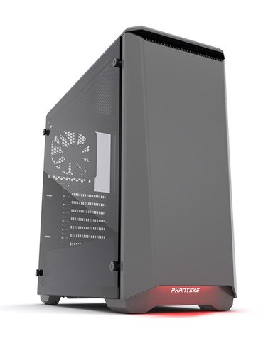 Phanteks Eclipse P400S Silent Edition Anthracite Grey Tempered Glass- RGB illumination Mid-Tower Case