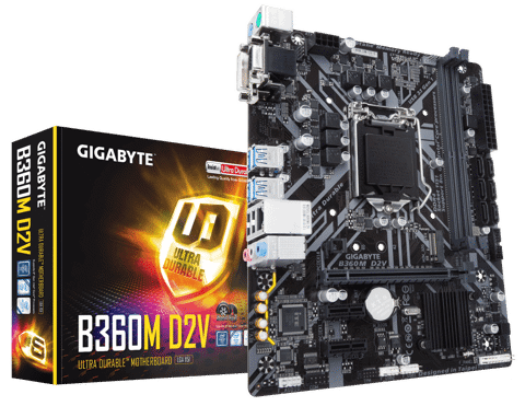 Gigabyte B360M-D2V - Socket 1151v2 Coffee Lake