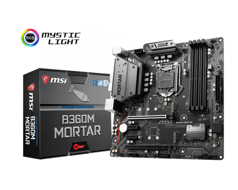 MSI B360M MORTAR - Socket 1151v2