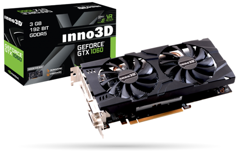 INNO3D GEFORCE GTX 1060 3GB X2