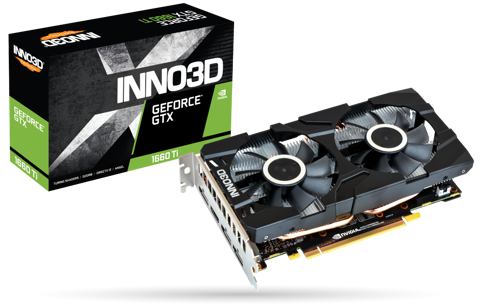 INNO3D GTX 1660Ti TWIN X2 6GB
