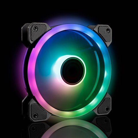 Infinity Spectrum Pro V2 - 5x Addressable RGB Led control fan