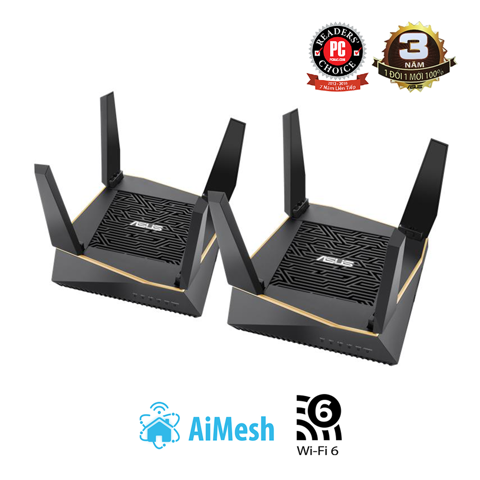 ASUS RT-AX92U (2-PK) (Gaming Router)