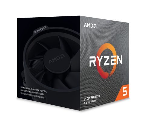 AMD Ryzen™ 5 3600X 6C/12 UPTO 4.4GHZ