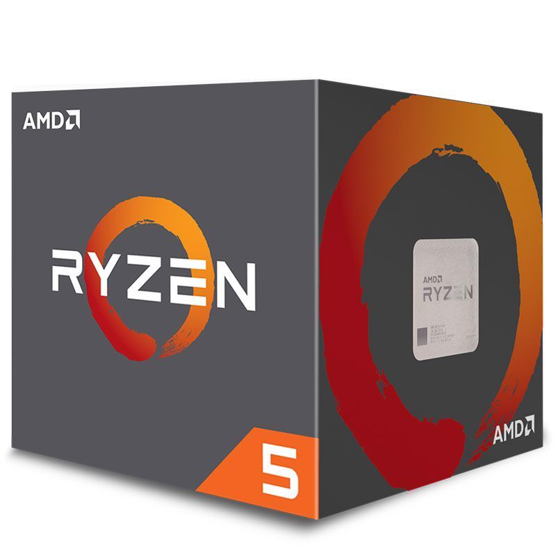 AMD Ryzen 5 2600X 3.6Ghz (4.2Ghz Turbo) Socket AM4