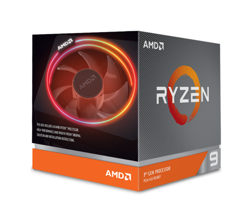 AMD Ryzen™ 9 3900X 12C/24T UPTO 4.6GHZ