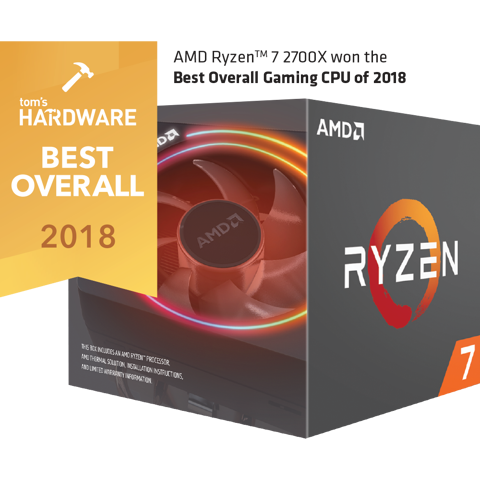 AMD Ryzen 7 2700X 3.7Ghz (4.3Ghz Turbo) Socket AM4