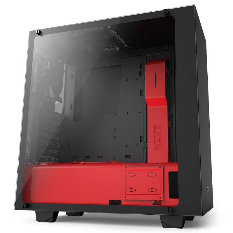 NZXT S340 Elite Black Red