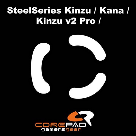 Corepad Skatez Pro for Steelseries Kinzu-Kana Series -100% PTFE Mouse feet