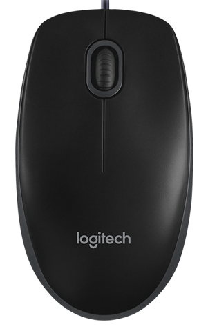 Logitech B100 Basic USB Mouse