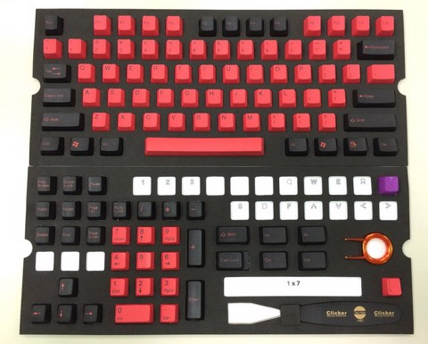Tai-Hao Double Shot PBT Red/Black -Nano Antibiosis 99.9% 104 keys