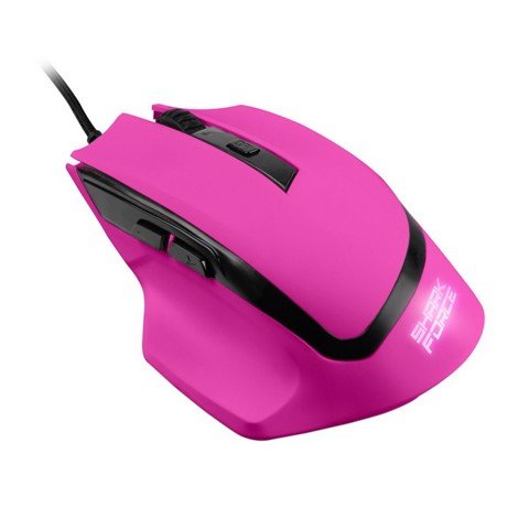 Sharkoon Shark Force Pink - Gaming Optical Mouse