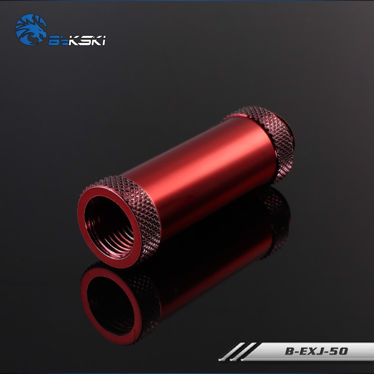 Bykski Red Extention Joint 50mm - B-EXJ50-RD