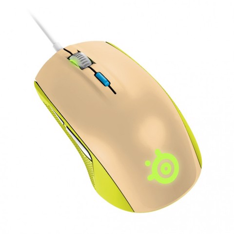 SteelSeries Rival 100 Gaia Green - Mouse
