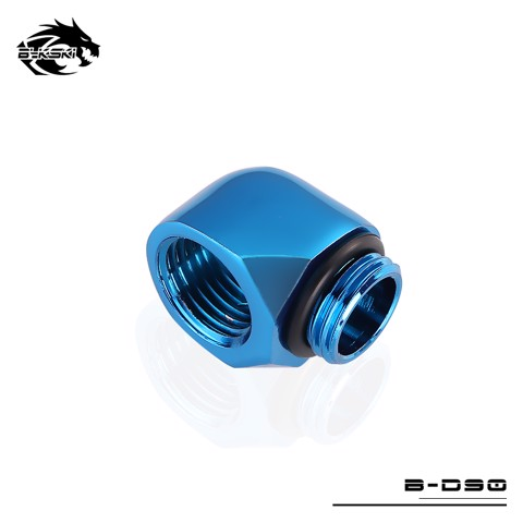 Bykski Blue 90 Fixation Joints - B-D90-BL