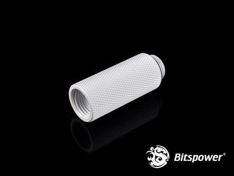 Bitspower G1/4'' Deluxe White IG1/4'' Extender-40MM