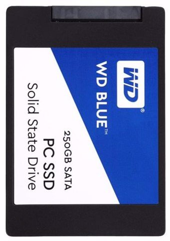 Western Digital Blue G2 3D-NAND 500GB- Sata3 SSD
