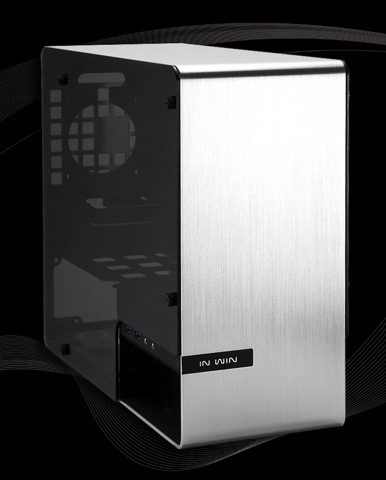 In-Win 901 Aluminium & Tempered Glass - Hi-end Mini ITX Tower Case