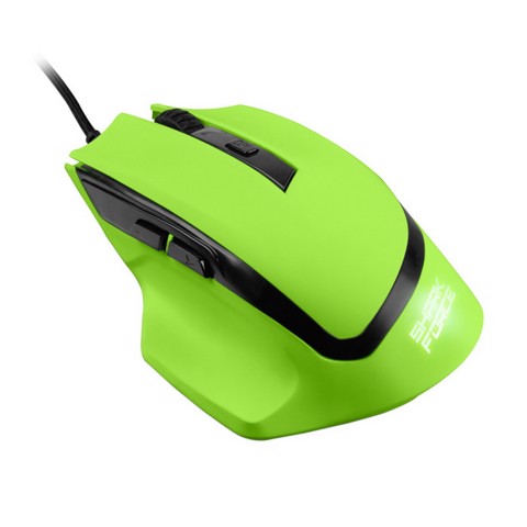 Sharkoon Shark Force Green - Gaming Optical Mouse