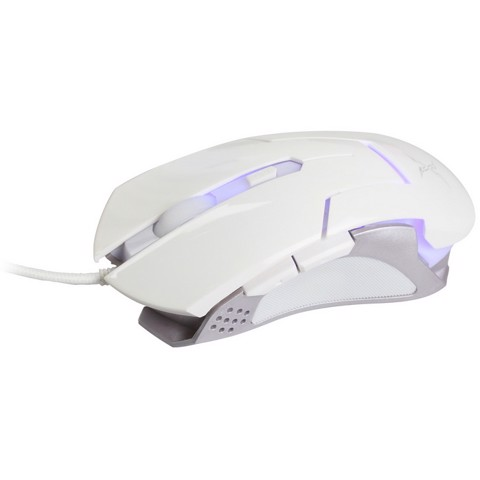 FoxXray Frimaire White - Optical Gaming Mouse