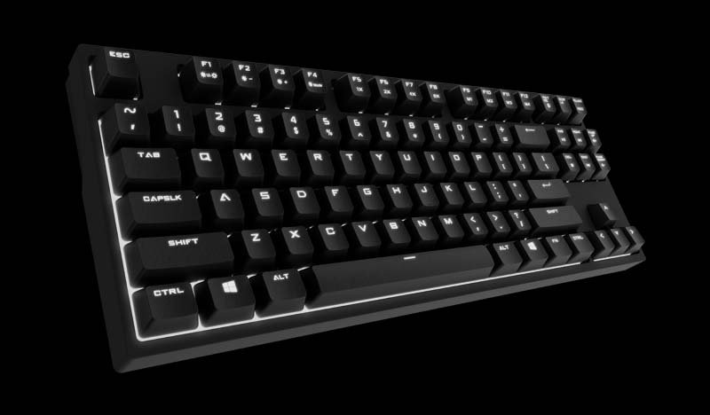a9ac5c71ed2 CM Storm QuickFire Rapid I - Cherry MX Blue Mechanical Keyboard