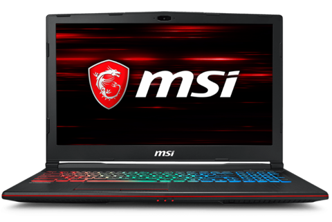 MSI GP63 8RD-098VN - GAMING LAPTOP