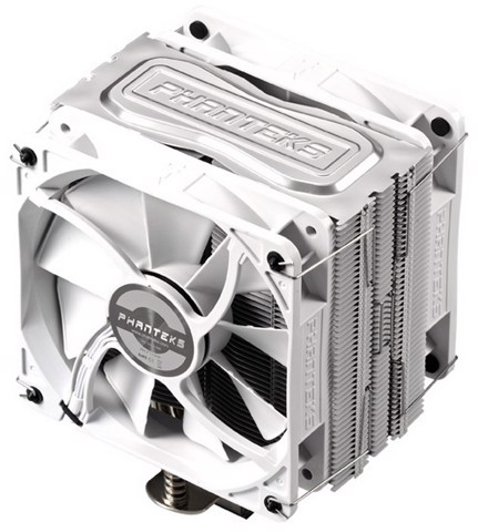 Phanteks TC12DX White Edition - Dual Fans Premium Cpu Cooler