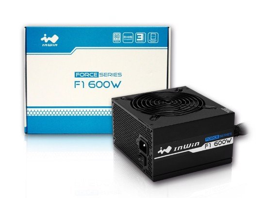 In-Win Force Series 600W 80 Plus Bronze - PSU