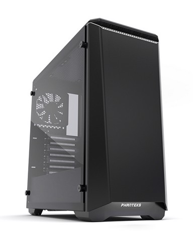 Phanteks Eclipse P400 Black/White Tempered Glass
