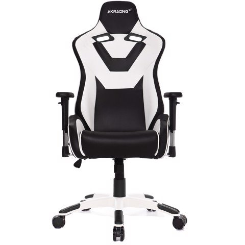 AK Racing Art White/Black - XXL Kingsize Gaming Chair