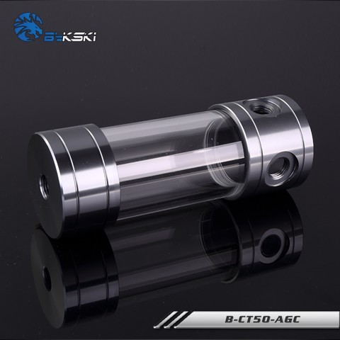 Bykski B-CT50-AGC Grey - 150mm Cylindrical Water Tank