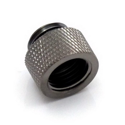 XSPC 10mm Male to Female Black Chrome Fitting