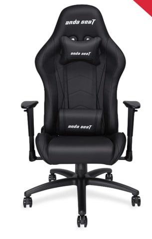 Anda Seat Spirit King Black/Red - Full PVC Leather 4D