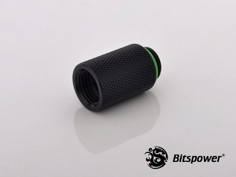 Bitspower G1/4'' Matt Black IG1/4'' Extender-25MM