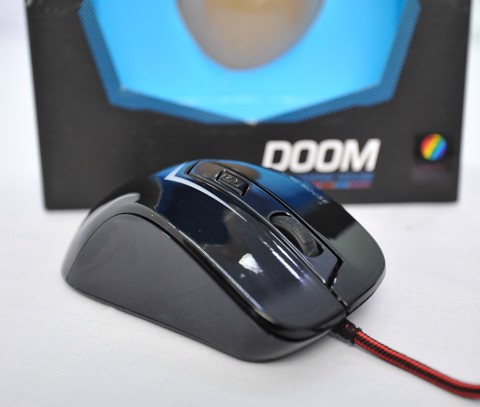 Infinity Doom Black - 2400 DPI Gaming Mouse