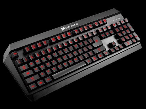 Cougar 450K - Hybrid Mechanical Gaming Keyboard