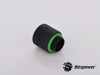 Bitspower G1/4'' Matt Black Anti-Twist Adapter